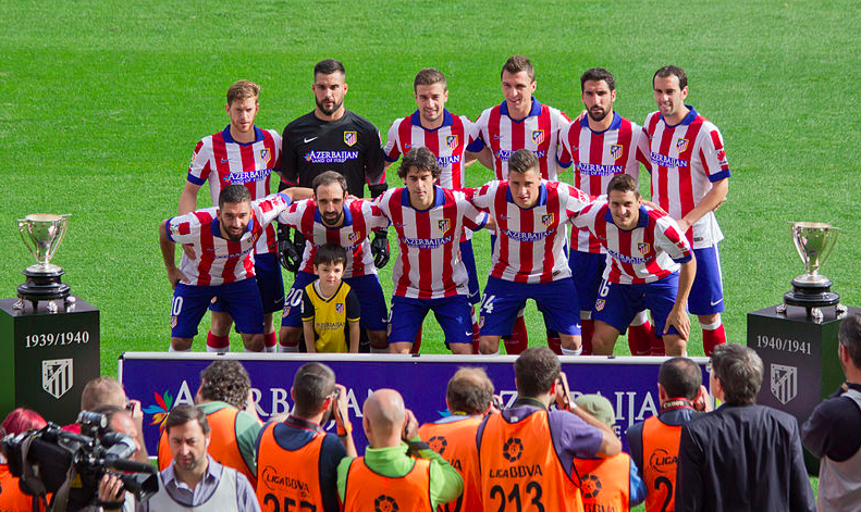Atletico Madrid La Ligan joukkue