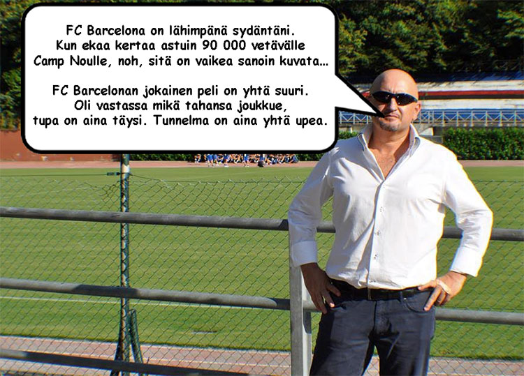 FC Barcelonan otteluohjelma puhekupla